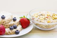 zdrowy śniadaniowy pojęcie zdjęcia stock