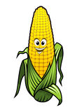 Zdrowy świeży żółty kukurydzany warzywo Obrazy Stock