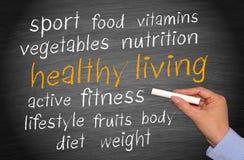 Zdrowy żywy pojęcie Zdjęcie Stock