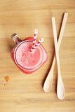 Zdrowy arbuza napój Zdjęcie Royalty Free