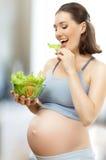 zdrowy łasowania jedzenie Zdjęcia Stock