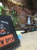 Zdrowy bar w O C Zdjęcia Royalty Free