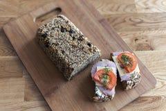 Zdrowy bochenek chleb Obrazy Royalty Free