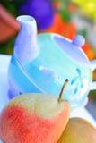 zdrowy bonkrety zamknięty zdrowy teapot Obraz Royalty Free