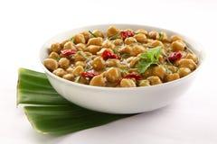 Zdrowy Channa masala od Indiańskiej kuchni Fotografia Royalty Free