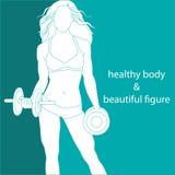 Zdrowy ciało i piękna postać Fotografia Royalty Free