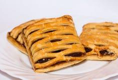 zdrowy ciasta pasztecika chuchu szpinak Obraz Stock
