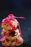 Zdrowy ciastka zakończenie Obraz Royalty Free