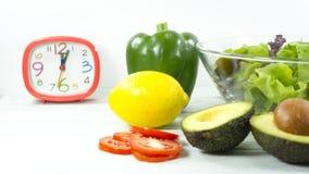 zdrowy domowej roboty weganinu jedzenie, jarska dieta, witaminy przekąska, jedzenie i zdrowia pojęcie, obraz royalty free