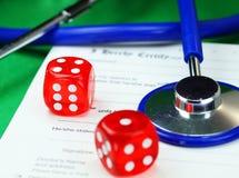 Zdrowy hazard Zdjęcia Stock