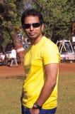Zdrowy i krzepko Indiański mężczyzna Obrazy Stock