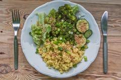Zdrowy i smakowity posiłek Obraz Stock