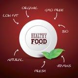 Zdrowy jedzenie Obraz Stock