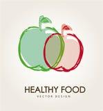 Zdrowy jedzenie Fotografia Stock