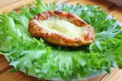 Zdrowy jedzenie, curd sera torty, Obraz Royalty Free