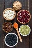 Zdrowy jedzenie, dieting, odżywiania pojęcie, weganin proteiny źródło zdjęcie royalty free