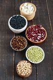 Zdrowy jedzenie, dieting, odżywiania pojęcie, weganin proteiny źródło obrazy royalty free