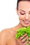 Zdrowy jedzenie dla naturalnego piękna Fotografia Royalty Free