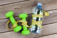 Zdrowy jedzenie i sprawność fizyczna Zdjęcia Royalty Free