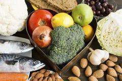 Zdrowy jedzenie Polecający dla cukrzyc obrazy royalty free