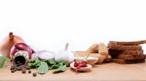 Zdrowy jedzenie. Świezi warzywa i owoc. Zdjęcia Stock
