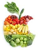 zdrowy kąska jabłczany jedzenie Obrazy Royalty Free