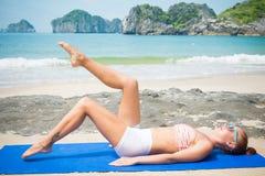 Zdrowy kobiety Ćwiczyć Obraz Royalty Free