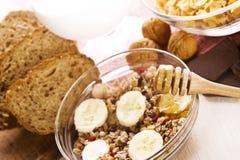 Zdrowy śniadanie Fotografia Royalty Free