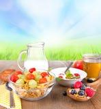 Zdrowy śniadanie Zdjęcia Royalty Free