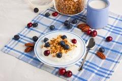 Zdrowy śniadanie Zdjęcie Royalty Free