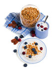 Zdrowy śniadanie Zdjęcia Stock