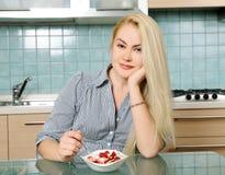 Zdrowy śniadanie Zdjęcie Stock