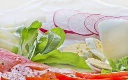 Zdrowy śniadanie Fotografia Stock