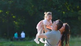 Zdrowy ojca i córki Bawić się zbiory