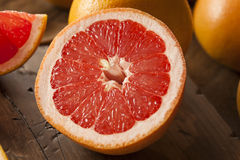 Zdrowy Organicznie Czerwony Rubinowy Grapefruitowy Obrazy Stock