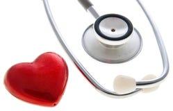 zdrowy serce Fotografia Stock