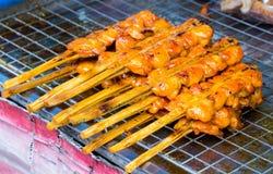 Zdrowy shish kebab Zdjęcia Royalty Free