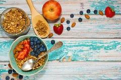 Zdrowy sprawności fizycznej śniadania pojęcie Fotografia Stock