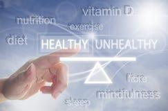 Zdrowy styl życia równowagi pojęcie obraz royalty free