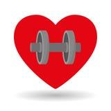 Zdrowy stylu życia projekt, sprawność fizyczna i bodybuilding pojęcie, Obraz Royalty Free