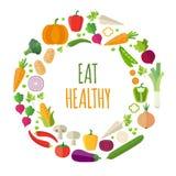 zdrowy tła jedzenie ilustracja wektor