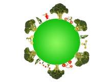 Zdrowy utrzymanie dla zielonej planety Obrazy Royalty Free