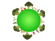 Zdrowy utrzymanie dla zielonej planety Obraz Royalty Free
