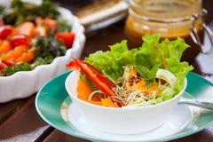 Zdrowy weganinu jedzenie Zdjęcia Stock