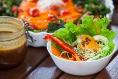 Zdrowy weganinu jedzenie Zdjęcia Royalty Free