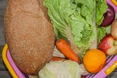 Zdrowy, witaminy jedzenie Zdjęcia Royalty Free