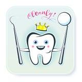 zdrowy ząb Zdjęcie Royalty Free