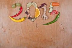 2015 Zdrowych diet Fotografia Royalty Free