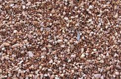Zdruzgotany żwir skały tło Fotografia Stock