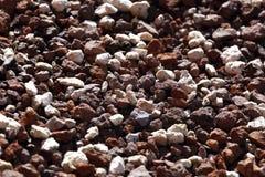Zdruzgotany kamień tekstury tło zdjęcia stock
